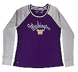 University of Washington (UW) Quilted Purple Women's Sweatshirt