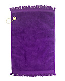 Purple Golf Towel