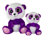 Purple Cartoon Panda