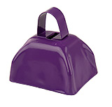 Mini Purple Cowbell