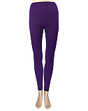 Fleece-Lined Purple Leggings