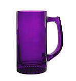 Purple Glass Stein