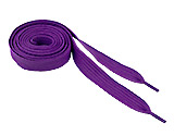 Wide Purple Shoelaces