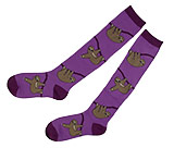 Purple Sloth Socks