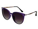 Purple Sunglasses with Rose Gold Arms