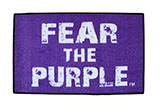 """Fear the Purple"" Door Mat"