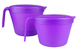 Purple Microwave Steamer Set