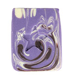 Almond, Cocoa, and Vanilla Scented Purple Soap