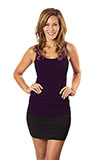 Jersey Tank Top - Plum or Dark Purple