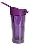Mighty Mug® Purple Travel Mug with Straw
