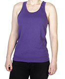 Purple Pigment Dyed Tank Top