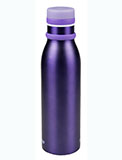 Stainless Steel Purple Water Bottle - 20 oz