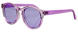 Translucent Purple Sunglasses