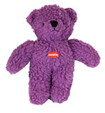 Squeaky Bear Purple Dog Toy