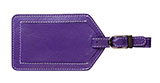 Purple Luggage Tags