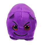Purple Plush Devil Emoji