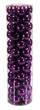 "60 Count 2.5"" Purple Ornament Set"