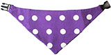 Reversible Purple Pet Bandana