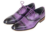 Purple Smooth Ombre Men's Dress Shoes