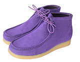 Purple Chukka Men's Suede Boots