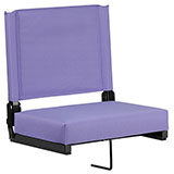 Purple Padded Grandstand Comfort Seat