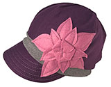 Women's Plum Purple Eco Weekender Hat