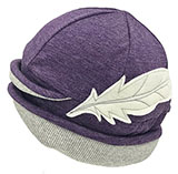 Women's Heathered Portland Purple Eco Hat