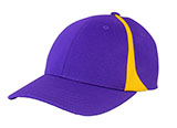 Purple and Gold Baseball Cap