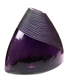 Mount Purple Glass Vase
