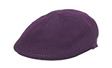 Plum Mesh Sided Ivy Cap