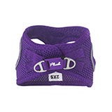 Plush Purple Dog Harness