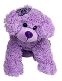 Stuffed Purple Dog