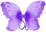 Sparkly Purple Butterfly Wings for Kids