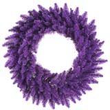 24 Purple Fir Wreath