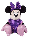 Plush Purple Minnie Mouse - Medium Size