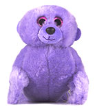 Plush Purple Sea Lion Pup