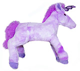 18 Plush Purple Unicorn (Medium size)