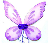 Folding Purple Fairy Wings