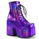Giant Stompy Shiny Purple Boots
