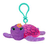 Plush Mini Purple Sea Turtle Clip