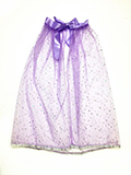 Kids Purple Stars Cape