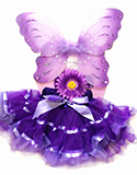 Baby Purple Fairy Costume Set