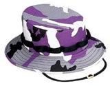 Purple Camouflage Hat (Purple Jungle/Boonie Hat)