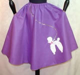 Purple Poodle Skirt