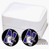 Northwestern Wildcats Cufflinks - 1 Pair