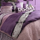 Purple Velvet Duvet Cover