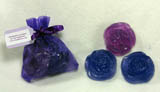 Purple Mini Roses Soap