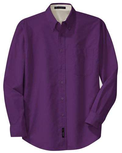 Purple Dress Shirt, Button Down