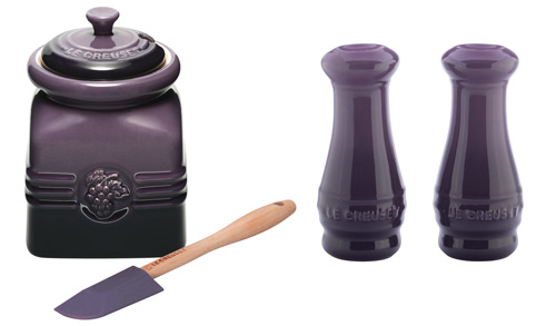 Purple Le Creuset Kitchen Accessories