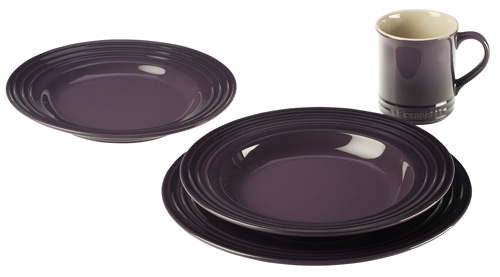 sc 1 st  The Purple Store & 16 Piece Le Creuset Purple Dinnerware Set